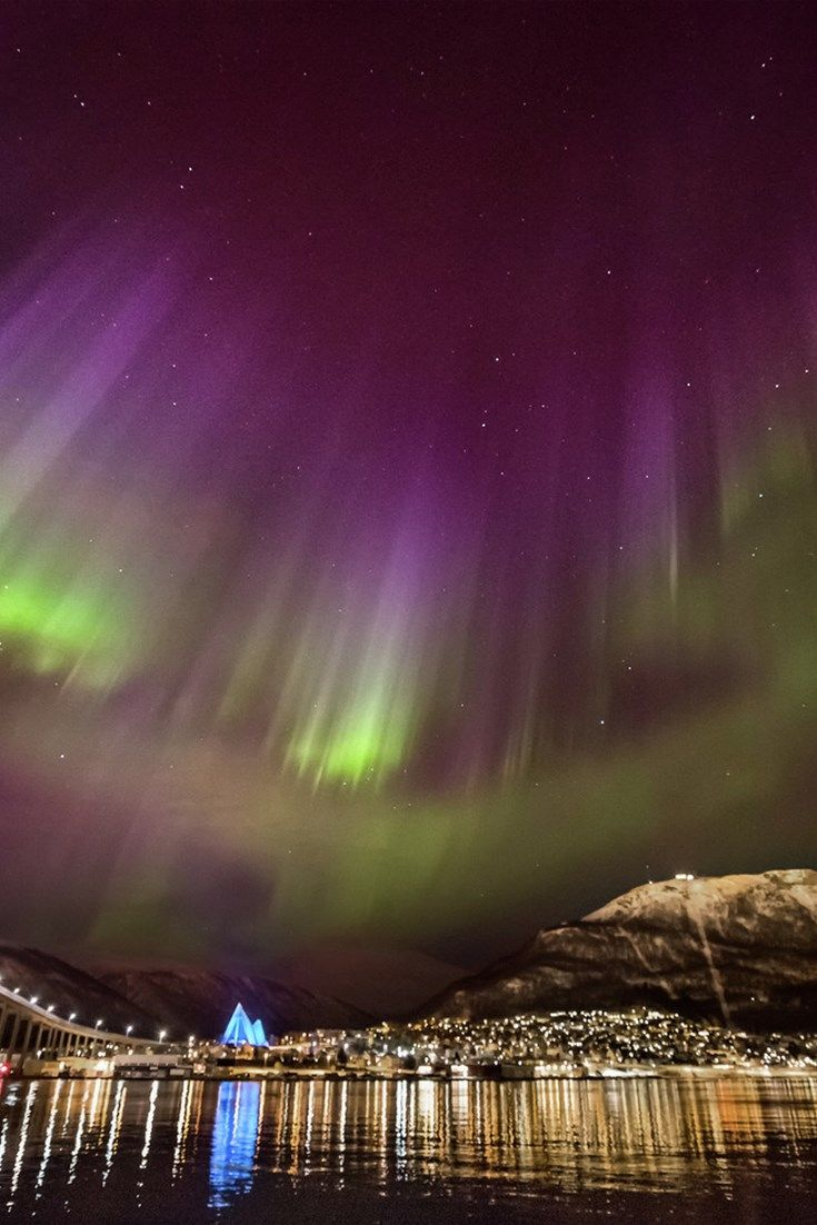 Seeing the Northern Lights is a truly life-changing event, and northern Norway's Tromsø is the best place to experience them. It's also a real foodie destination – find out the best places to visit during a stay in the Norwegian city.