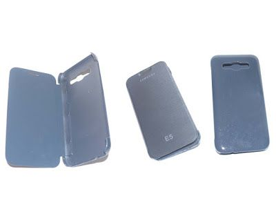 Toko Aksesories Gadget: Flip Cover Samsung E5
