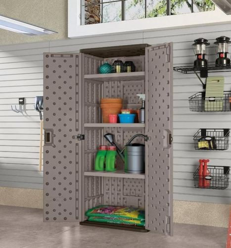72-Tall-Utility-Storage-Cabinet-w-Double-Lockable-Door-3-Adjustable-Shelves