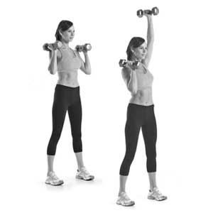 his 20-minute workout routine designed by trainer Chris Powell will build muscular endurance and help you lose weight