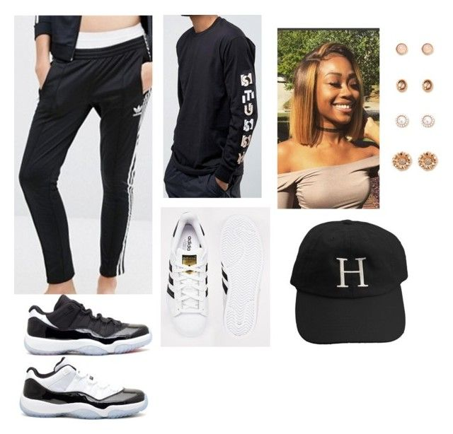 """""""Untitled #292"""" by alyviathompson on Polyvore featuring adidas, Concord and Forever 21"""