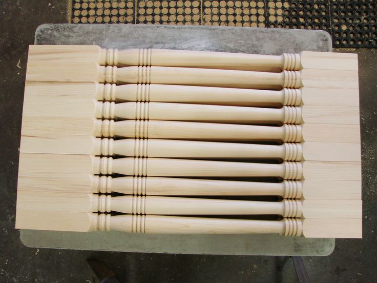 More custom spindles.