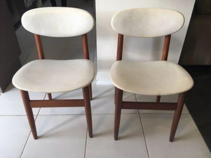 Vintage Retro Danish Design Dining Chairs | Dining Chairs | Gumtree Australia Mornington Peninsula - Mornington | 1131130470