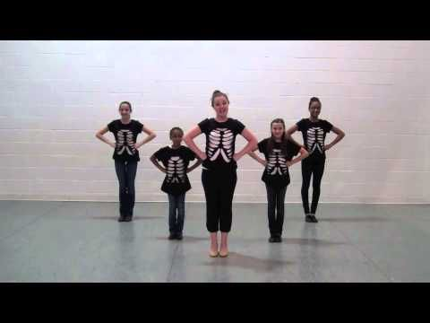 Skeleton Shake - Choreography Video From MusicK8.com