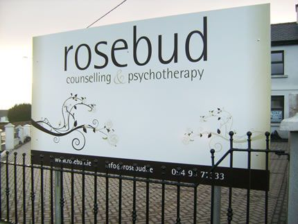 Project: Signboard Client: Rosebud, Co. Mayo, Ireland.