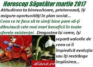 Horoscop martie 2017 Săgetător