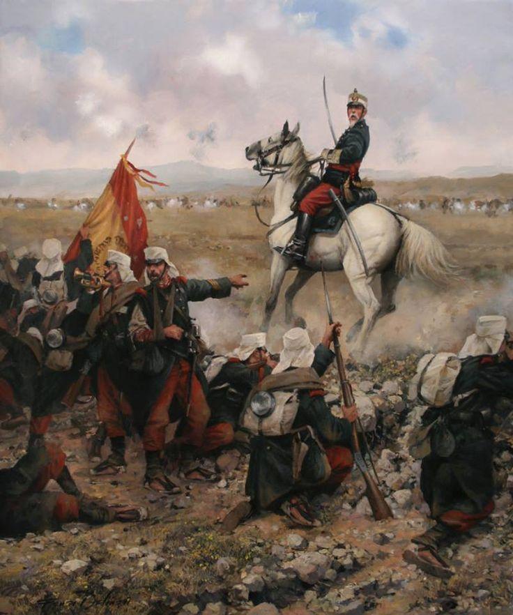 Primera Guerra del Rif, defensa de Melilla 1893