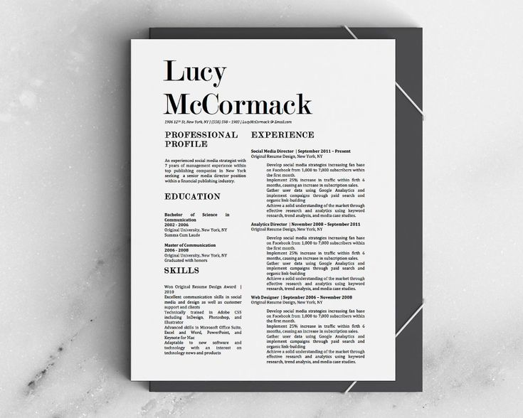 Best Carry Jackson Resume Template Images On   Resume