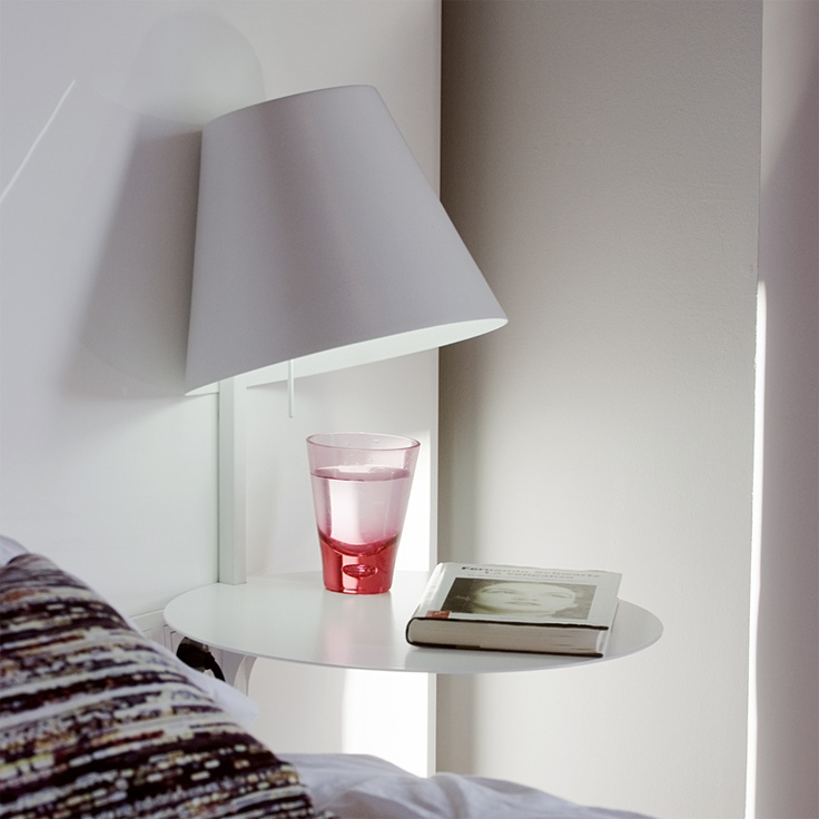 Alux Lamp/nightstand By Mexican Industrial Designer Christian Vivanco    Itu0027s All ONE Piece,