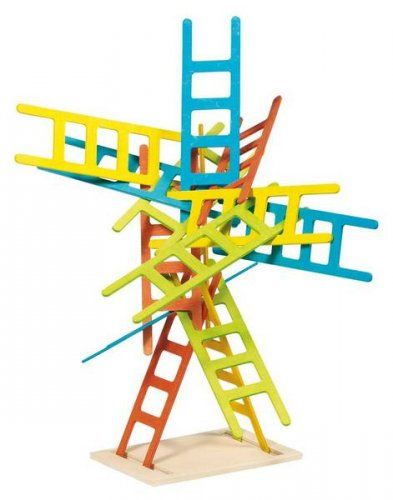 Ξύλινες σκάλες ισορροπίας/ Balancing and stacking game Ladders