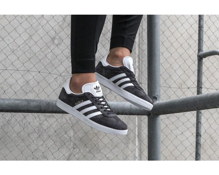 adidas Originals Women's Gazelle Charcoal/White | BY2851 – Culture Kings