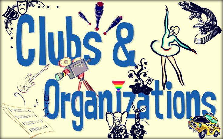 Join A Club/organization That Aligns With Your Goals U0026 Interest. Joining A  Club Or Organization Is A Great Way To Meet New People And Extremely Fun.