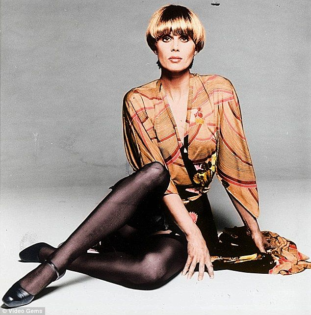 Joanna Lumley as Purdey, one of The Avengers. Compare to her character on Absolutely Fabulous about 20 years later