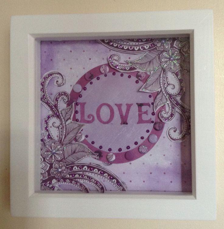 Craftwork Cards Velvet Plum