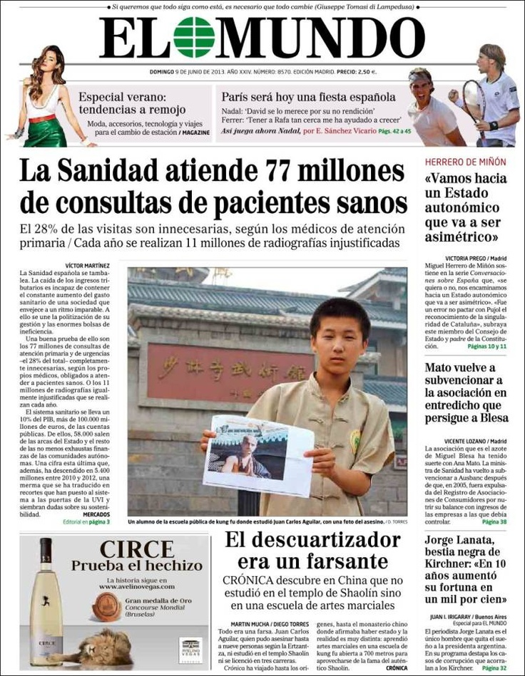 22 Best Images About 9 Junio 2013 Principales Titulares