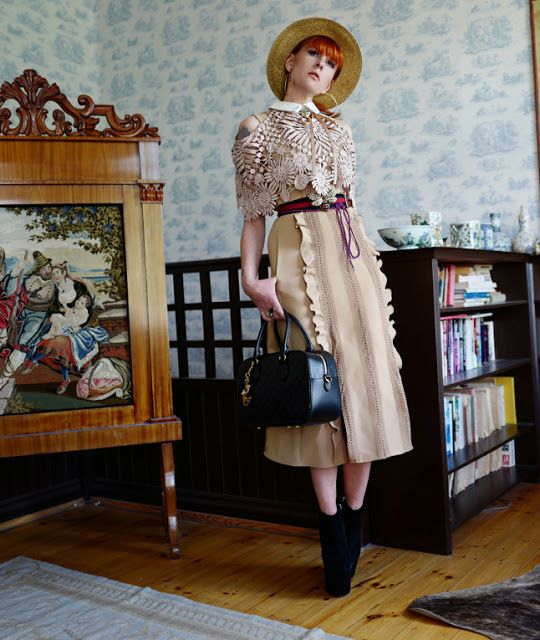 The wardrobe of Ms. B: Who said beige was boring?