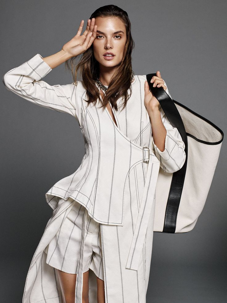 Trend Line: Alessandra Ambrosio for Glamour by Alique