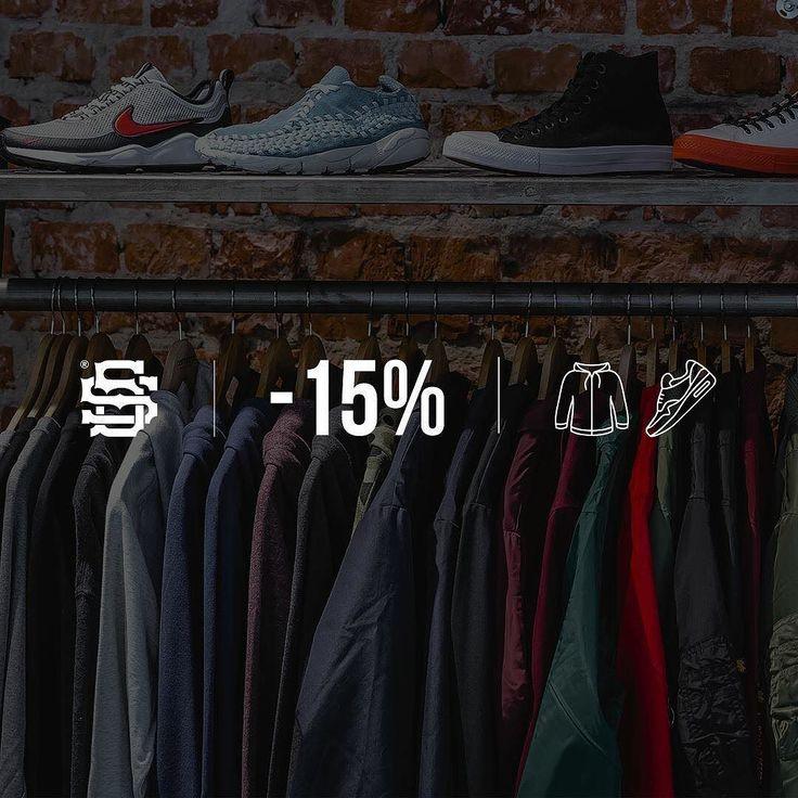 PRZYGOTUJ SIĘ NA WIOSNĘ! 17.03 - 19.03 WEEKEND DEAL - 15% NA WSZYSTKIE UBRANIA ORAZ BUTY ONLINE - https://streetsupply.pl/ SKLEP STACJONARNY - ŚWIĘTOKRZYSKA 16
