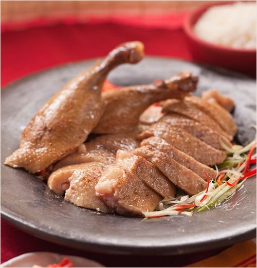Teochew Braised Duck (Lo Ack/滷鸭): succulent, slick with soy sauce, and very tasty. | rasamalaysia.com