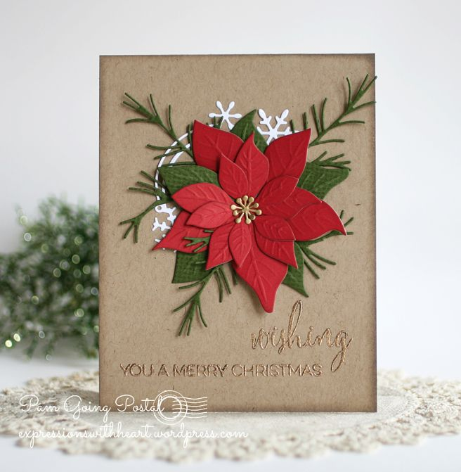 Memory Box and poppystamps Christmas cards…                                                                                                                                                                                 More