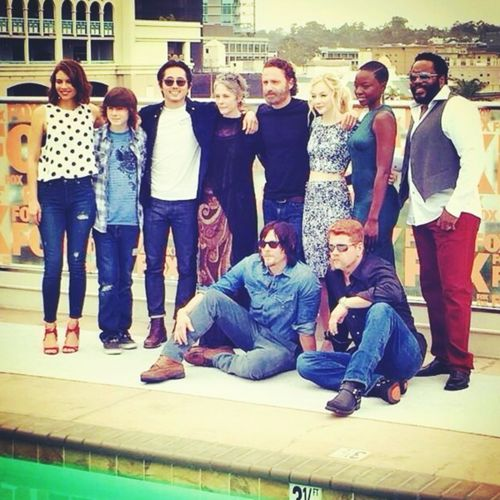 LAUREN / CHANDLER / STEVEN / MELISSA / ANDREW / EMILY / DANAI / CHAD / NORMAN AND MICHAEL ~ COMIC CON / SAN DIEGO 25 JULY 14