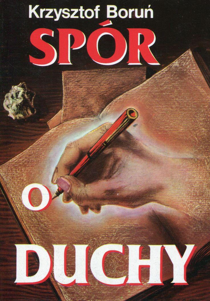 """""""Spór o duchy"""" Krzysztof Boruń Cover by Krystyna Töpfer  Illustrated by Janusz Gutkowski and Katarzyna Boruń-Jagodzińska Published by Wydawnictwo Iskry 1992"""