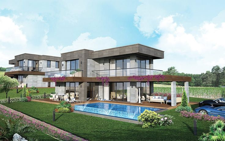 Villa Sera Çeşme - 3 Boyutlu Görünüm, Fiyatları, Nerede, Resimleri, Kat Planları