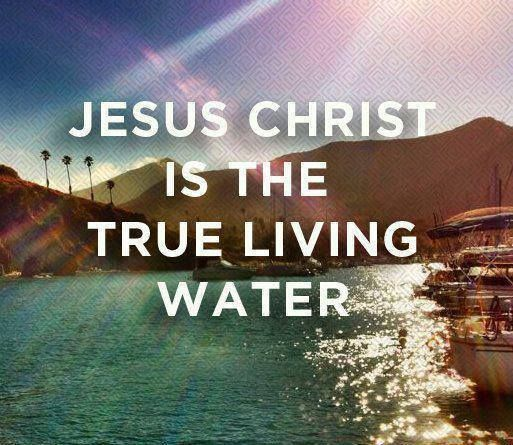 Come And Drink From The Living Water Living Water Jesus God The Father