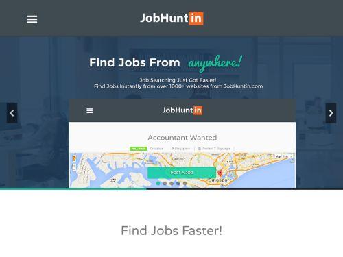 JobHuntin: Job Searching Just Got Easy