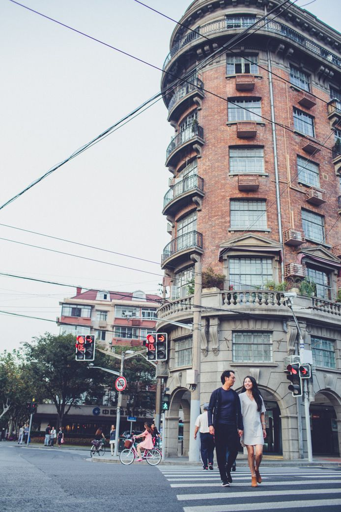 walk around shanghai wukang lu