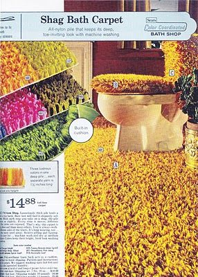 So much no... Bathroom shag carpets. Pop Circus: What A Book!: 'Catalog - The Illustrated History of Mail-Order Shopping'