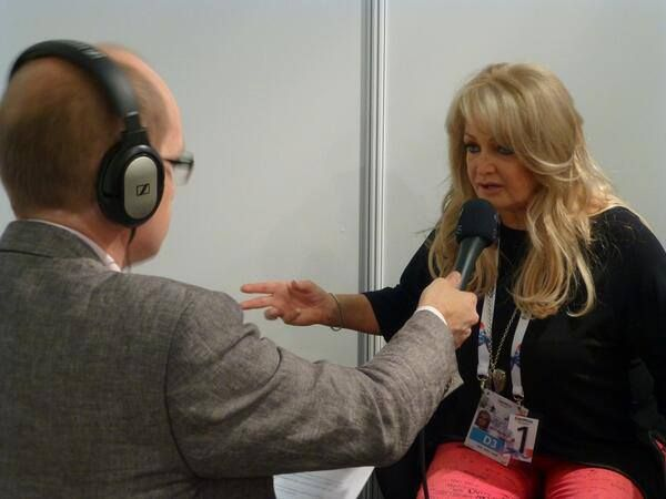 Bonnie Tyler in Malmö during repetitions. 12/05/2013 #bonnietyler #eurovision #gaynorsullivan #gaynorhopkins #thequeenbonnietyler #therockingqueen #rockingqueen #2013 #malmo #uk #unitedkingdom #music #rock