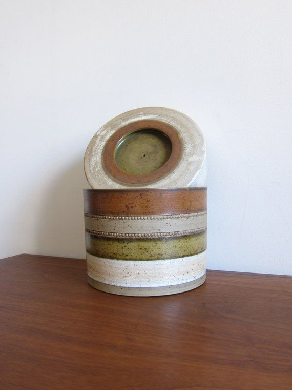 Rare Ice Bucket From Denby Potters Wheel by by ModernSquirrel, $99.00