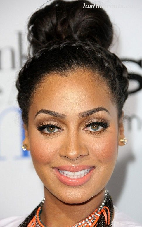 36 La La Anthony Hairstyles-La La Anthony Hair Pictures  #CelebrityHaircuts