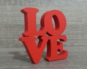 Mini Love NY Decorativo Vermelho
