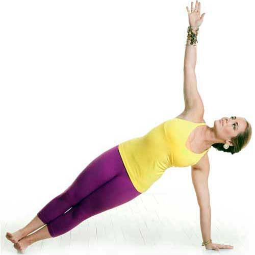 Muscle-Sculpting Yoga: Side Plank