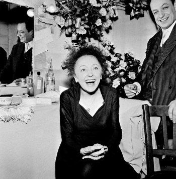 Edith Piaf and Charles Dumont, 1960