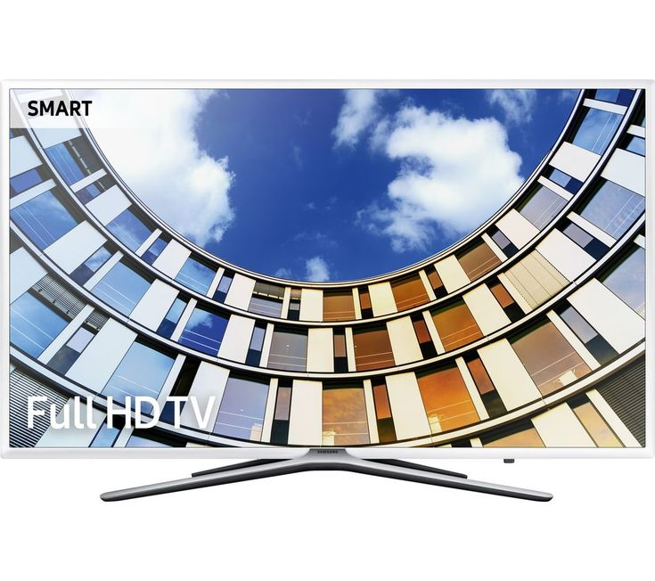 "Buy SAMSUNG UE43M5510 43"" Smart LED TV - White, White Price: £529.00 Top features:- Full HD for crisp and clear picture quality - One Remote Control to navigate compatible devices and content- Quad-core processor for fast and fluid browsing Full HDLose yourself in crisp and clear picture quality with the Samsung UE43M5510 43"" Smart LED TV.Together with Wide Colour Enhancer and Ultra Clean..."