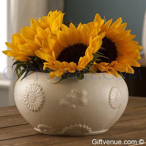 Belleek Sunflower Bowl