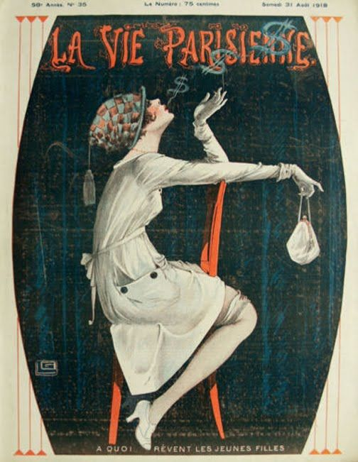 1595 best vintage illustration images on pinterest - La parisienne journal ...