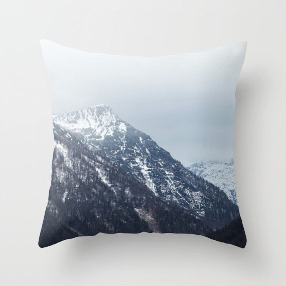 Mountains Austria Pillow Cover6 sizes4 by BacktoBasicsPillows