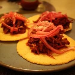 Authentic Cochinita Pibil (Spicy Mexican Pulled Pork) Recipe, after eating at Meso Mayo last night I need to try to make this!