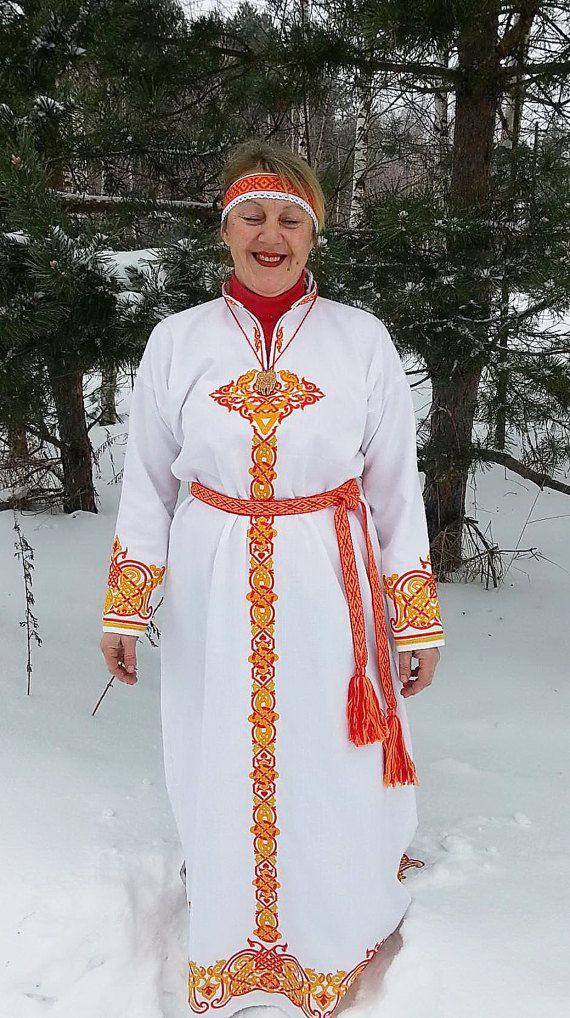 Russian woman dress Veleslava