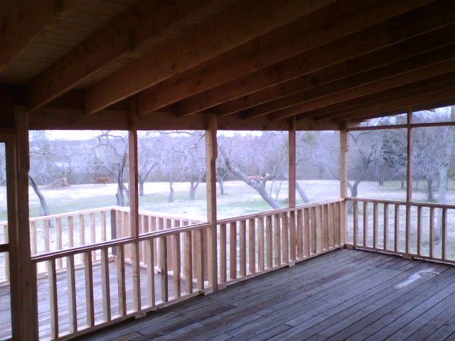 screened decks | Screened Deck 3a. Lake House Screened ...