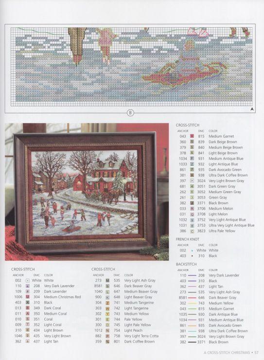 Gallery.ru / Фото #5 - A Cross Stitch Christmas Handmade Holiday - Marina-Melnik