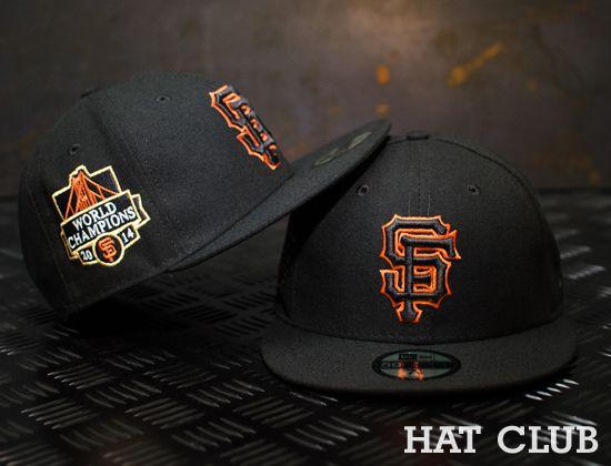 05d775f3945df Custom San Francisco Giants Fitted Cap   HAT CLUB