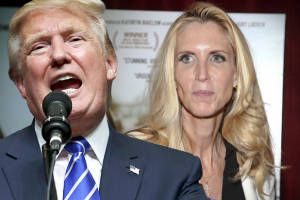 Let's all laugh at Ann Coulter: She's slamming Trump now, but right-wing loudmouth proudly defended his demented ideas