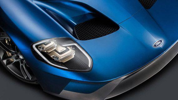 Элементы дизайна суперкара Ford GT 2017 / Форд GT 2017