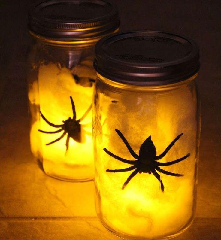 20 best id es pour halloween images on pinterest halloween crafts hallowee - Idees pour halloween ...