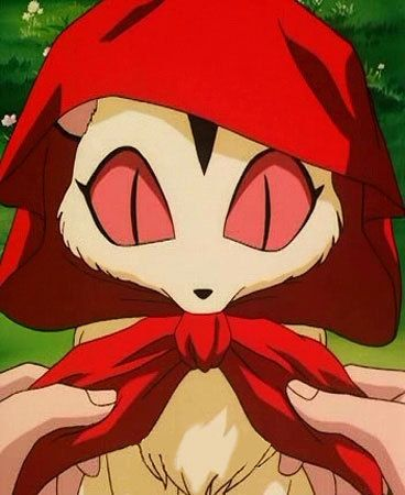 OMG So cute! Little Red Riding Kirara! Can I get this on a t-shirt please? LoL